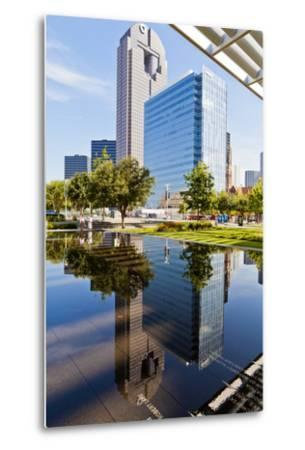 Art District, At&T Performing Arts Centre, Dallas, Texas, United States of America, North America-Kav Dadfar-Metal Print
