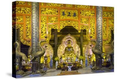 Tam the Hall at Bai Dinh Temple (Chua Bai Dinh), Gia Vien District, Ninh Binh Province, Vietnam-Jason Langley-Stretched Canvas Print