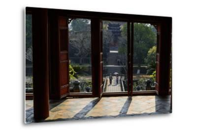 Tomb of the Emperor Minh Mang of Nguyen Dynasty, the Light Pavillon, Group of Hue Monuments-Nathalie Cuvelier-Metal Print