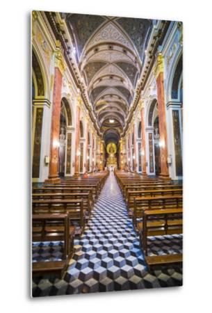 Inside Salta Cathedral, Salta, Salta Province, North Argentina, Argentina, South America-Matthew Williams-Ellis-Metal Print