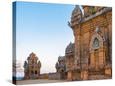 Po Klong Garai Temple, 13th Century Cham Towers, Phan Rang-Thap Cham, Ninh Thuan Province, Vietnam-Jason Langley-Stretched Canvas Print