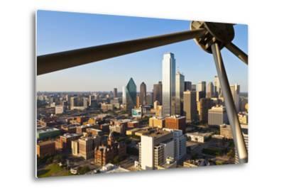 Skyline from Reunion Tower, Dallas, Texas, United States of America, North America-Kav Dadfar-Metal Print