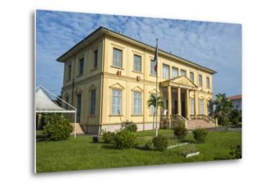Old Colonial Buildings in Saint Laurent Du Maroni, French Guiana, Department of France-Michael Runkel-Metal Print