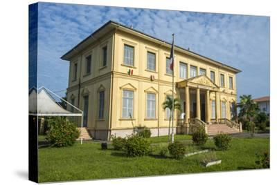 Old Colonial Buildings in Saint Laurent Du Maroni, French Guiana, Department of France-Michael Runkel-Stretched Canvas Print