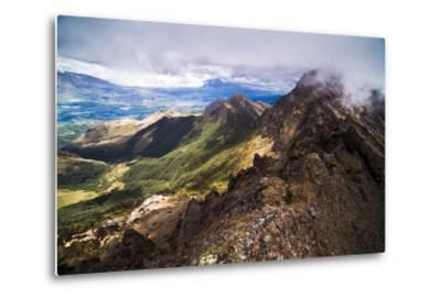 Ruminahui Volcano Summit, Cotopaxi National Park, Avenue of Volcanoes, Ecuador, South America-Matthew Williams-Ellis-Metal Print