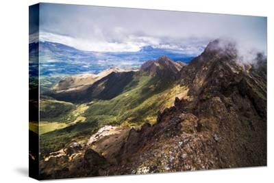 Ruminahui Volcano Summit, Cotopaxi National Park, Avenue of Volcanoes, Ecuador, South America-Matthew Williams-Ellis-Stretched Canvas Print