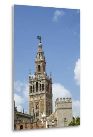 La Giralda, Bell Tower, Seville Cathedral, Seville, Andalucia, Spain-Peter Barritt-Metal Print