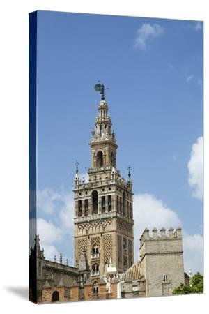La Giralda, Bell Tower, Seville Cathedral, Seville, Andalucia, Spain-Peter Barritt-Stretched Canvas Print