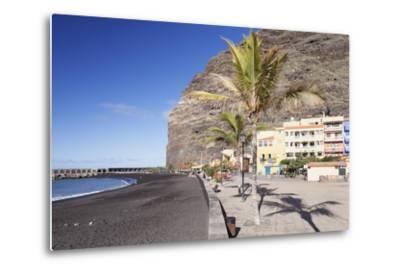Beach of Puerto De Tazacorte, La Palma, Canary Islands, Spain, Atlantic, Europe-Markus Lange-Metal Print