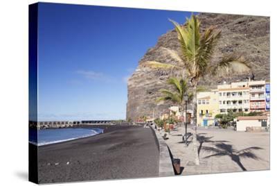 Beach of Puerto De Tazacorte, La Palma, Canary Islands, Spain, Atlantic, Europe-Markus Lange-Stretched Canvas Print
