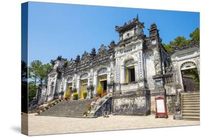 Tomb of Khai Dinh (Lang Khai Dinh), Huong Thuy District, Thua Thien-Hue Province, Vietnam-Jason Langley-Stretched Canvas Print