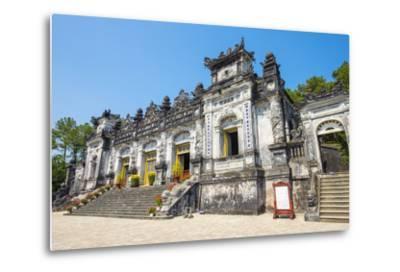 Tomb of Khai Dinh (Lang Khai Dinh), Huong Thuy District, Thua Thien-Hue Province, Vietnam-Jason Langley-Metal Print
