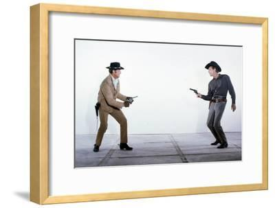 The Good Guys and the Bad Guys--Framed Photo