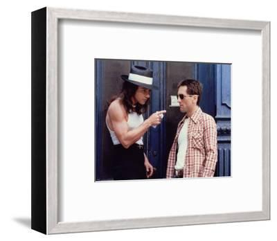 Taxi Driver--Framed Photo