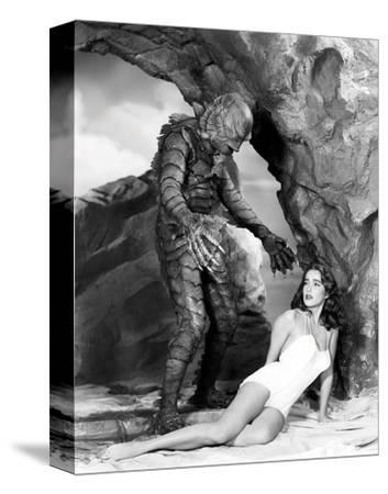 Creature from the Black Lagoon--Stretched Canvas Print