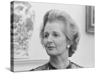 Vintage Photo of Margaret Thatcher-Stocktrek Images-Stretched Canvas Print