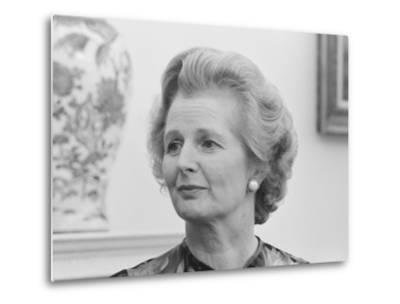 Vintage Photo of Margaret Thatcher-Stocktrek Images-Metal Print