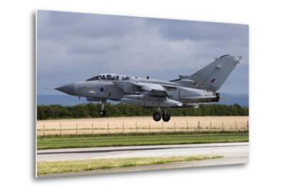 A Royal Air Force Tornado Gr4A Landing at its Home Base-Stocktrek Images-Metal Print