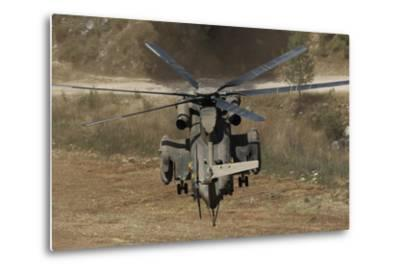 Rear View of an Israeli Air Force Ch-53 Yasur Helicopter-Stocktrek Images-Metal Print