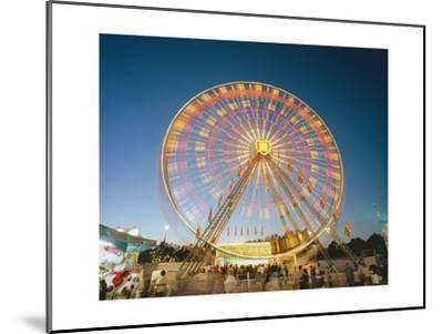 North Carolina State Fair Ferris Wheel-Henri Silberman-Mounted Photographic Print