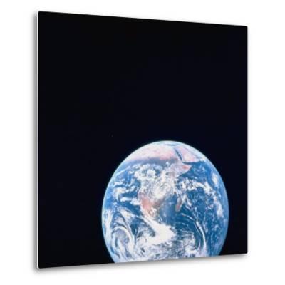 Earth Viewed from Deep Space--Metal Print