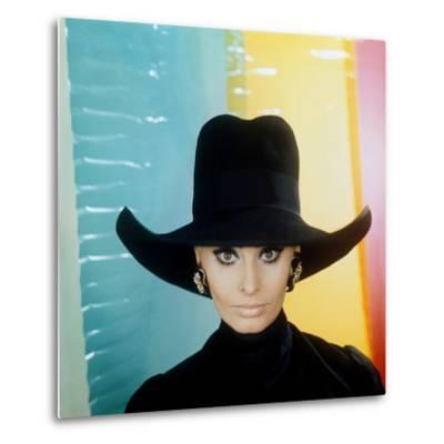 Sophia Loren--Metal Print