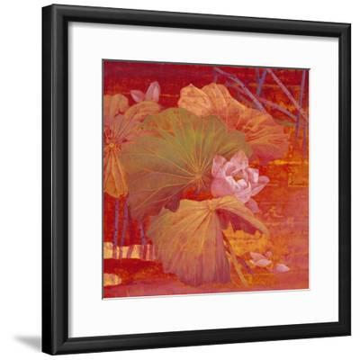 Red Illusion-Ailian Price-Framed Art Print