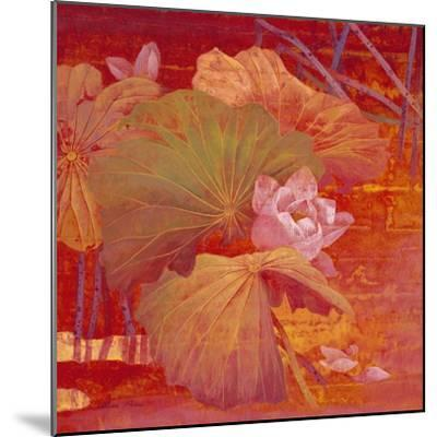 Red Illusion-Ailian Price-Mounted Art Print