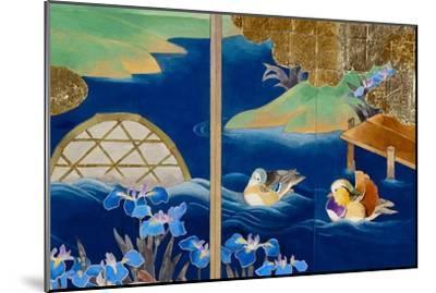 Shiragiku-Haruyo Morita-Mounted Art Print