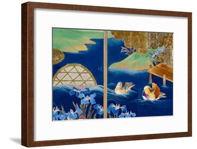 Shiragiku-Haruyo Morita-Framed Art Print