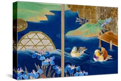 Shiragiku-Haruyo Morita-Stretched Canvas Print