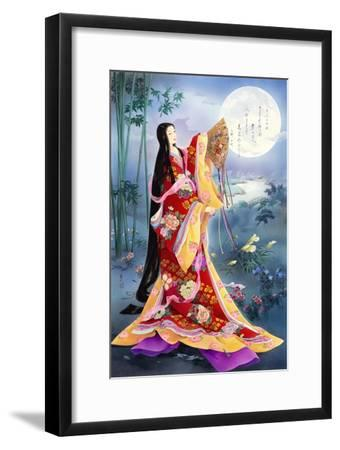 Komachi-Haruyo Morita-Framed Art Print
