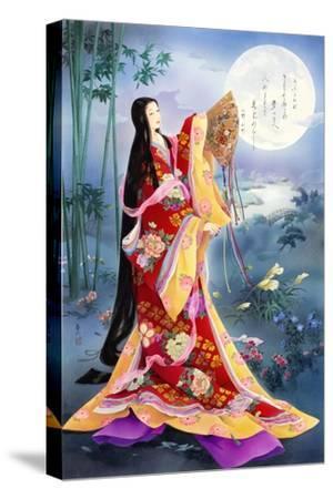 Komachi-Haruyo Morita-Stretched Canvas Print