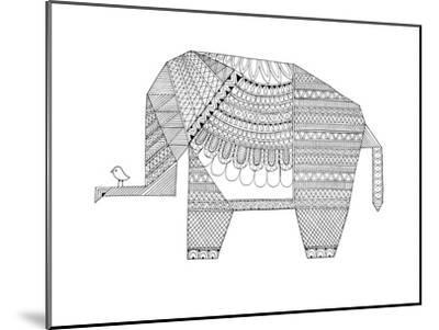 Origami 5-Neeti Goswami-Mounted Art Print