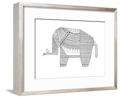 Origami 5-Neeti Goswami-Framed Art Print