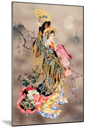 Tsuki No Uta-Haruyo Morita-Mounted Art Print