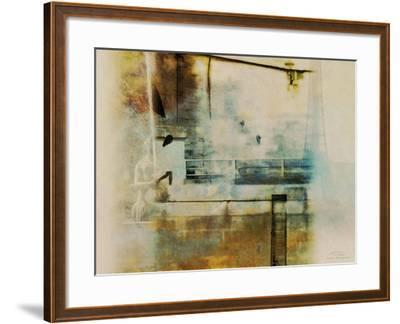 City Collage - Paris 05-Joost Hogervorst-Framed Art Print