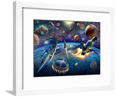 Outer Space-Adrian Chesterman-Framed Art Print