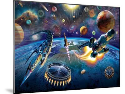 Outer Space-Adrian Chesterman-Mounted Art Print