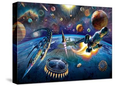 Outer Space-Adrian Chesterman-Stretched Canvas Print