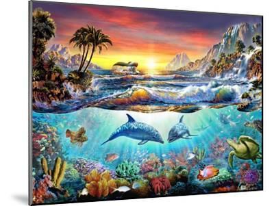 Paradise Bay-Adrian Chesterman-Mounted Art Print
