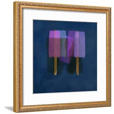 Abstract Soft Blocks 01 II-Joost Hogervorst-Framed Art Print