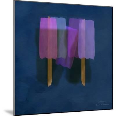 Abstract Soft Blocks 01 II-Joost Hogervorst-Mounted Art Print