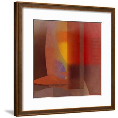 Abstract Tisa Schlemm 04-Joost Hogervorst-Framed Art Print