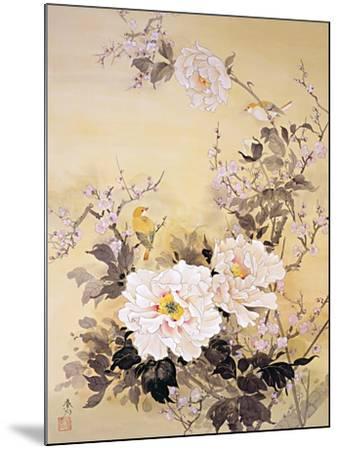 Spring Blossom 2-Haruyo Morita-Mounted Art Print