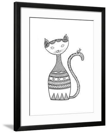 Animal Cat 3-Neeti Goswami-Framed Art Print