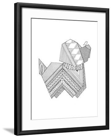 Origami 11-Neeti Goswami-Framed Art Print