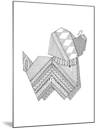 Origami 11-Neeti Goswami-Mounted Art Print