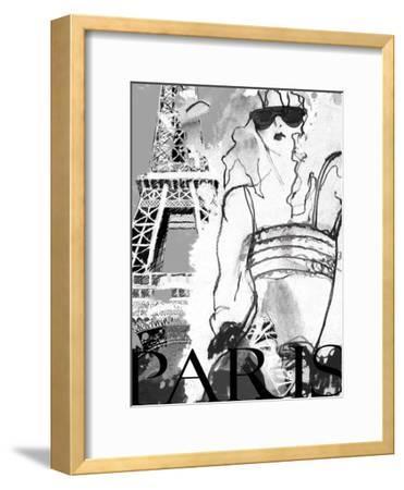 Shades of Paris-Jodi Pedri-Framed Art Print