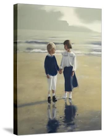 Sunday-Mark Van Crombrugge-Stretched Canvas Print